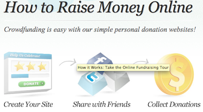 raise money for a cause online free