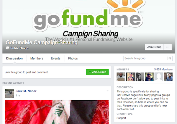 7 places to share your gofundme link