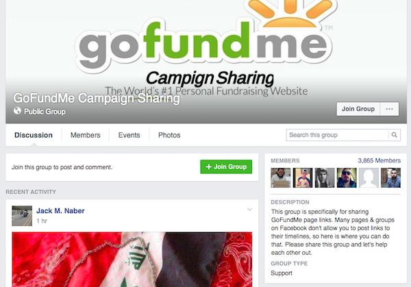 gofundme facebook