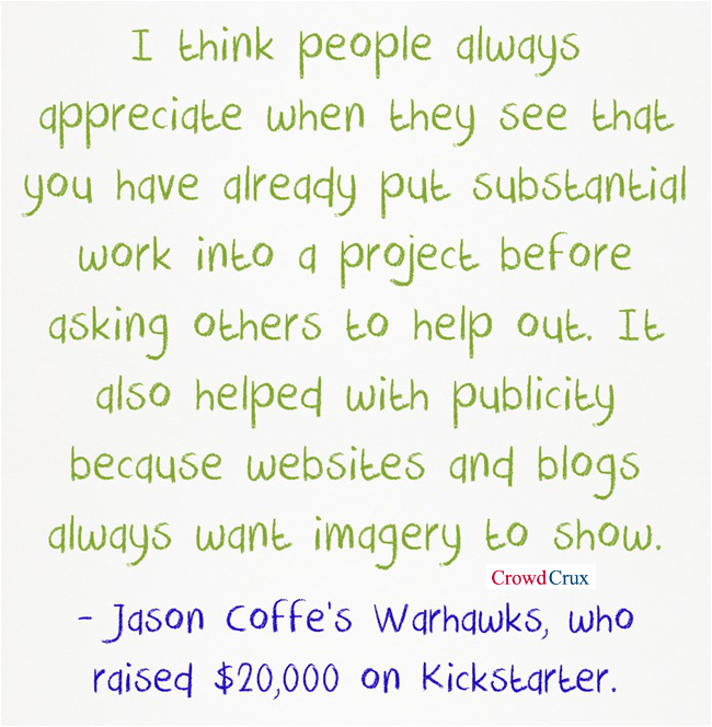 kickstarter tips