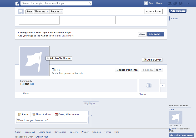 how to add recommend this page on facebook
