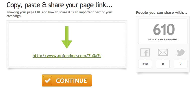 How to make a GoFundMe campaign page