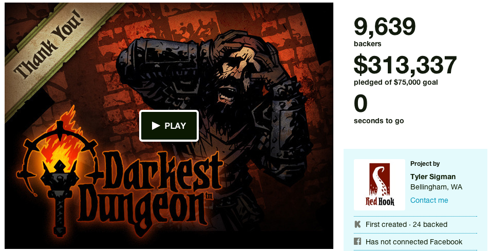 Darkest Dungeon Kickstarter