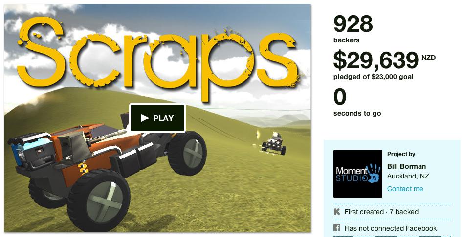 scraps kickstarter