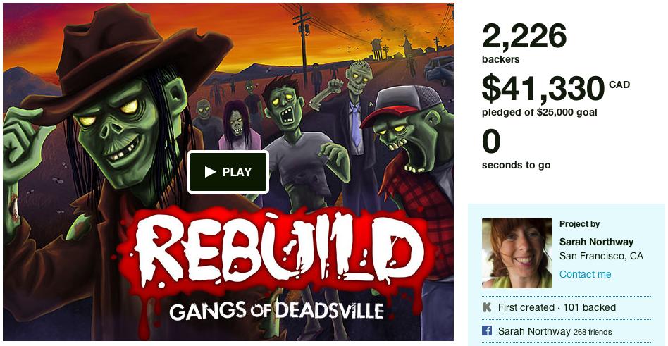 rebuild kickstarter