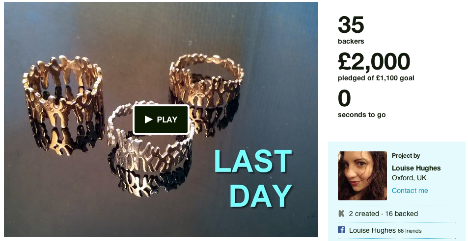 chromosome jewellery kickstarter