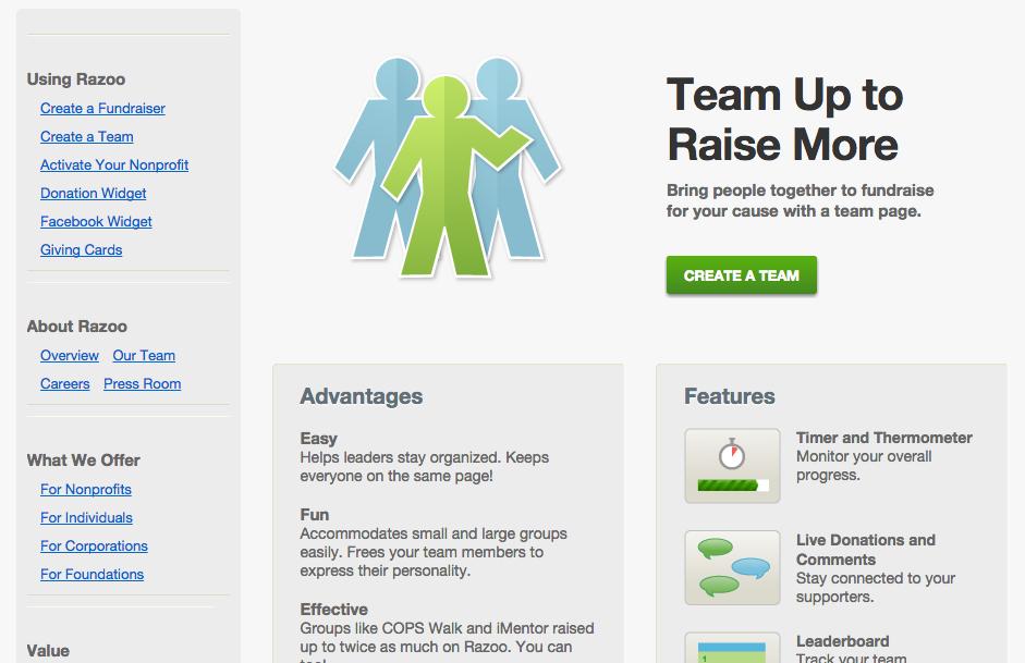 Top 5 Peer to Peer Fundraising Sites