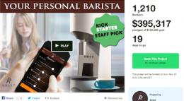 Arist coffee machine kickstarter