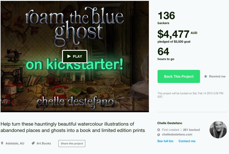 Roam the Blue Ghost screenshot