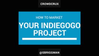 indiegogo marketing project