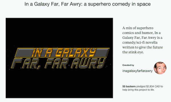 in a galaxy far far awry