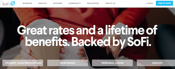 SoFi is one of the more popular platforms out there that caters to the  student loan demographic. You can quickly find your rate on their website  and move on ...