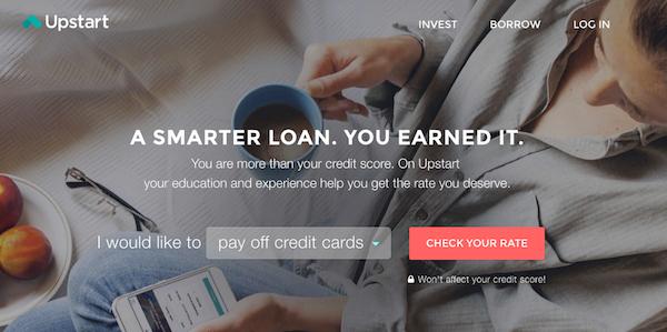 upstart loan