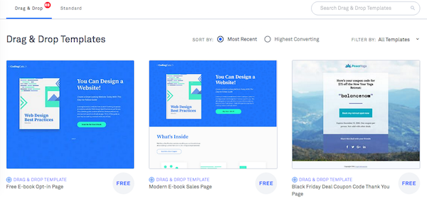 Simple Tips For Creating A Landing Page For Your Physical Product - Sales landing page template