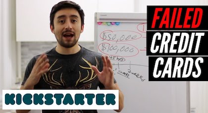 Easy Tool to Collect Kickstarter Failed Credit Cards